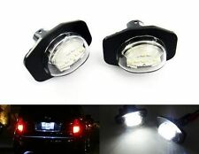 2 Direct Fit LED License Plate Light White For Toyota Corolla Sienna Scion xB xD