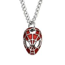 Marvel The Ultimate Spider-Man Mask Stainless Steel Pendant Necklace
