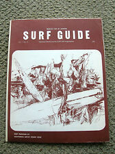 Vintage Surfer surfing surf guide magazine surfboard RARE vol 1#3 clean book Wow