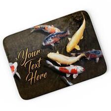 Personalised Koi Carp Mouse Mat Pad Computer Gaming Fish Fishing Gift SH148