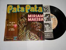 45 tours MIRIAM MAKEBA  pata pata RVEP 60112