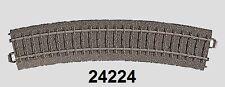 Märklin H0 24224 C-Gleis gebogen R2 = 437,5 mm / 24,3° NEU