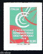 ITALIA 1 FRANCOBOLLO ESPOSIZIONE CICLO E MOTOCICLO EICMA 2016 nuovo**