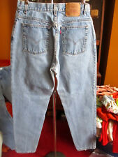 sz 14 REG L 32x33 Women's 550 Levi's Relaxed TAPERED Vtg 90s Mom Jeans USA