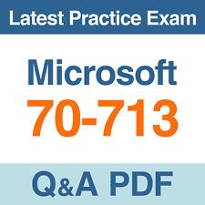 Microsoft Practice Test 70-713 Software Asset Management (SAM) Exam Q&A PDF