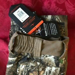 """REALTREE WOMANS LOOSE """"MED"""" WATERPROOF RT EDGE/CLUB COLOR-NEW WITH TAGS"""
