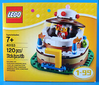 NEW LEGO 40153 JESTER BIRTHDAY CAKE TOPPER SET YEAR 1-99