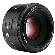 Yongnuo Obiettivo YN50mm F/1.8 Auto Focus Lens per Canon EF EOS 750D 77D 6D etc.
