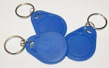 3x NFC Tag mit MIFARE Classic® Chip - Schlüsselanhänger blau - keyfob blue - 1k