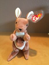 Ty Beanie Baby Pouch Kangaroo Rare Collectable