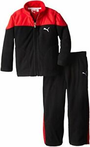 Puma Toddlers Curve Polar Fleece Set - Jacket and Pants Outfit - Color Options