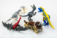 Jurassic World Dinosaures Construction Blocs Jouets Figurines Complet Taille Rex