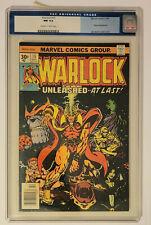 Marvel Comics Warlock #15  CGC 9.4