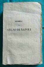 Massimo Nugnes Storia del Regno di Napoli parte 1^ terza edizione 1842
