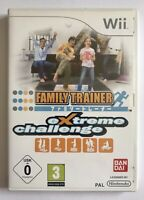 Family Trainer Extreme Challenge (Nintendo Wii Game) Game Only, Free UK Post, VG