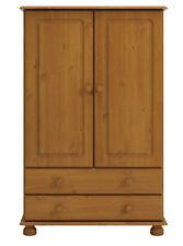 2 Door 2 Drawer Combi Wardrobe in Pine Bedroom Range from Denmark