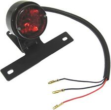 Complete Taillight Round O.D 61mm with Bracket Black
