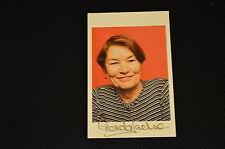 GLENDA JACKSON signed Original Autogramm 10x15 cm OSCARPREISTRÄGERIN