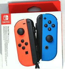 Nintendo Switch Joy-Con Controller Pair Neon Red Neon Blue NEW SEALED