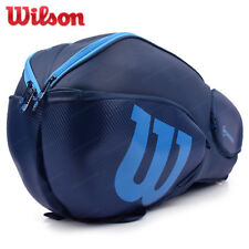 Wilson Vancouver Tennis Badminton Bag Backpack 9 Pack Blue 2017 Nwt Wrz-843709