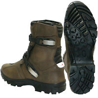Motorcycle OFF Road Leather Shoes Waterproof Sports Adventure Touring Shoes New