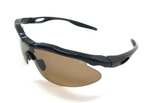 Medicus Golf Flipz Sunglasses Protection Eyewear Shades Amber Vydra w Carry Case