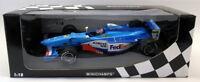 Minichamps 1/18 Scale Diecast  180 980096 Benetton F1 A. Wurz F1 Model Car