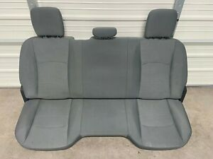 2009-2018 Dodge Ram 2500 3500 Rear Seat gray cloth