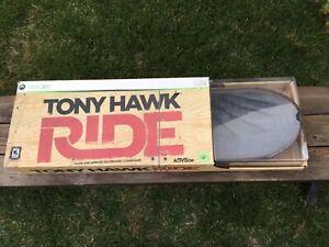 New Tony Hawk Ride Xbox 360 Game & Wireless Skateboard Controller Bundle Sealed