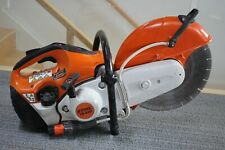 Stihl Ts 420 Cut Off Machine With 14 Cutting Wheel