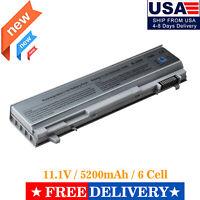 6 Cells Battery for Dell Latitude E6400 E6500 ATG XFR E6410 E6510 312-0748 PT435