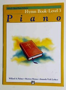 Alfred's Basic Piano Course: Hymn Book 3 New-Old Stock -  FREE SHIP