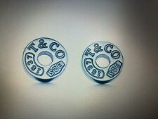 Tiffany & Co. Sterling Silver Circle earrings