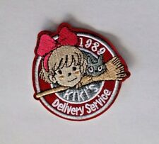 1989 Kiki's Delivery Service Anime Patch Embroidered Anime Sew Iron on Badge
