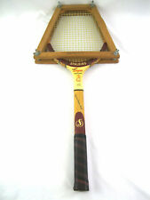 Vintage1960 Spalding Ashley Cooper Professional Wooden Tennis Racket w/Press Nmt