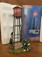 Dept 56 Snow Village BUCK'S COUNTY 2000 WATER TOWER #55111 Retired 2003