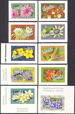 Vanuatu 2006 Flores/plantas/árboles Vides// La Naturaleza/Lily/Hibiscus 10v S/A Set n43196
