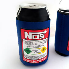 NOS BOTTLE STUBBY HOLDER DRINK CAN COOLER nitrous XR6 EVO WRX GTR RX7 200SX VL