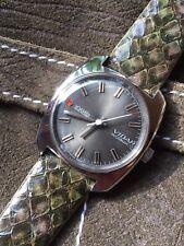 Roamer Vidar Vintage Swiss Made All Steel Mens Watch