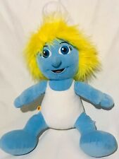 Smurf Build A Bear Workshop Blue Smurfette Girl Toy Plush Stuffed Animal