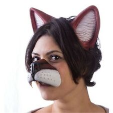 Anime Latex Fox Nose & Ears Set