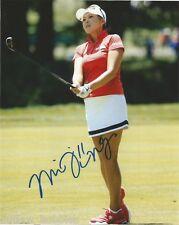 LPGA Mi Jung Hur Autographed Signed 8x10 Photo COA BB