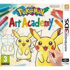 Pokemon Art Academy Nintendo 3ds UK PAL