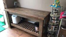 Vintage Industrial Butchers Block Kitchen Island Sideboard