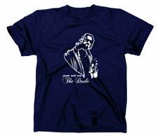 #2 The Big Lebowski The Dude T-Shirt Kult Funshirt Fan Logo Abides Sobchak