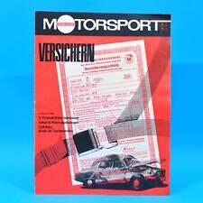 DDR Illustrierter Motorsport IMS 5/1973 CZ 250 Sport Pneumant-Rallye Kutna Hora
