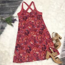 Kuhl Pixelated Floral Tennis Dress Size Medium Casual Athletic Summer Sundress