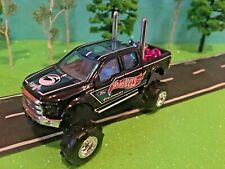 Custom Hot Wheel, lifted 2015 FORD F-150 Rear exhaust pipes Chains &  G-5 lift