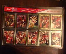 1991 Action Packed 49ers Team Football Card Complete Set Joe Montana,Rice, Lott