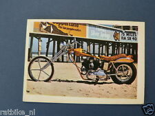 VDH-222 CHOPPER HARLEYMOTORCYCLE PICTURE STAMP ALBUM CARD,ALBUM PLAATJE
